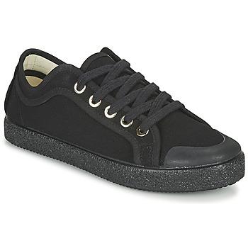 Cipők Női Rövid szárú edzőcipők Dream in Green OBRINDILLE Fekete