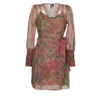 Ruhák Női Rövid ruhák Vero Moda VMABELIA Zöld / Piros