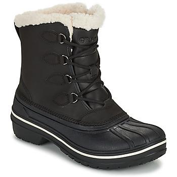 Cipők Női Csizmák Crocs ALL CAST II BOOT W Fekete