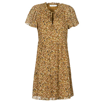 Ruhák Női Rövid ruhák Naf Naf MARIA R1 Teve