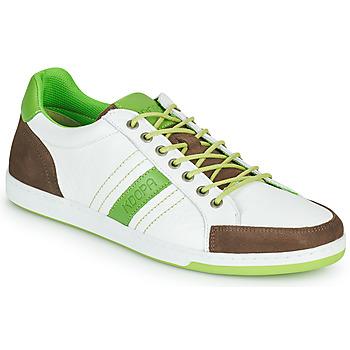 Cipők Férfi Rövid szárú edzőcipők Kdopa MARIANO Fehér / Zöld