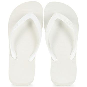 Cipők Lábujjközös papucsok Havaianas TOP Fehér