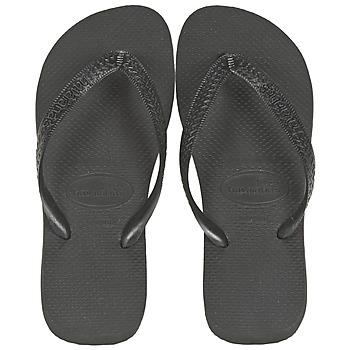 Cipők Lábujjközös papucsok Havaianas TOP Fekete