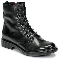 Cipők Női Csizmák Mjus CAFE Fekete