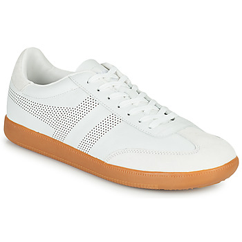 Cipők Férfi Rövid szárú edzőcipők Gola ACE LEATHER Fehér
