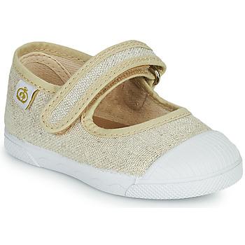 Cipők Lány Balerina cipők  Citrouille et Compagnie APSUT Bézs