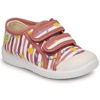 Cipők Lány Rövid szárú edzőcipők Citrouille et Compagnie GLASSIA Rózsaszín / Nyomtatott