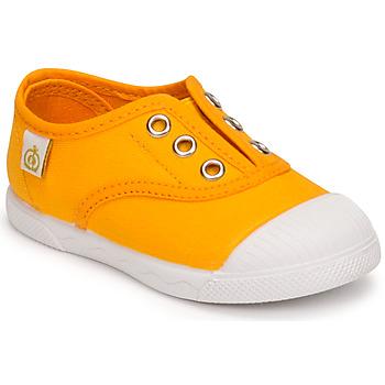 Cipők Lány Rövid szárú edzőcipők Citrouille et Compagnie RIVIALELLE Mangó