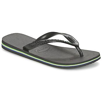 Shoes Lábujjközös papucsok Havaianas BRASIL Fekete