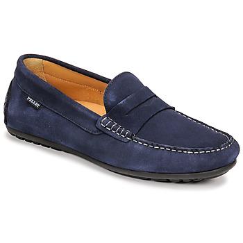Cipők Férfi Mokkaszínek Pellet Cador Kék