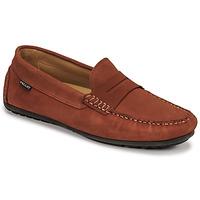 Cipők Férfi Mokkaszínek Pellet Cador Piros
