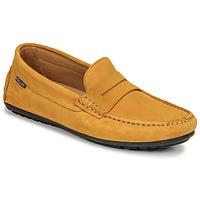 Cipők Férfi Mokkaszínek Pellet Cador Citromsárga