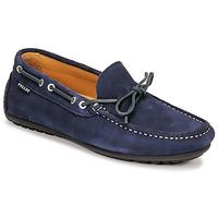 Cipők Férfi Mokkaszínek Pellet Nere Kék