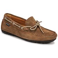 Cipők Férfi Mokkaszínek Pellet Nere Tópszínű