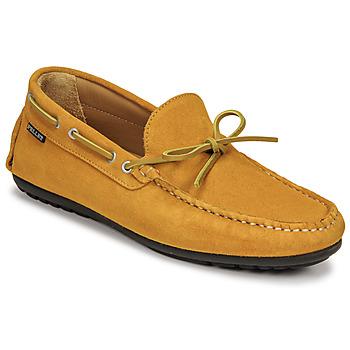 Cipők Férfi Mokkaszínek Pellet Nere Citromsárga