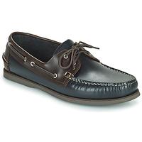 Cipők Lány Balerina cipők  Pellet Vendée Kék / Barna