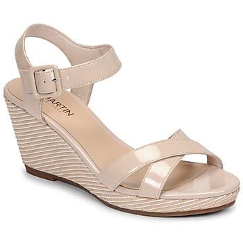 Cipők Női Szandálok / Saruk JB Martin QUERIDA Bőrszínű