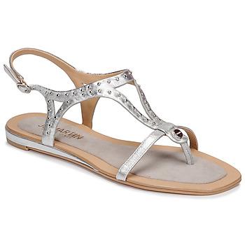 Cipők Női Szandálok / Saruk JB Martin ALANIS Fémes / Ezüst
