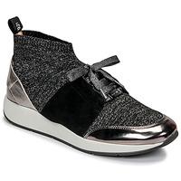 Cipők Női Rövid szárú edzőcipők JB Martin KASSIE SOCKS Fekete
