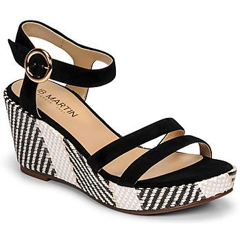 Cipők Női Szandálok / Saruk JB Martin DORKA E20 Fekete