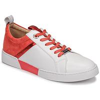Cipők Női Rövid szárú edzőcipők JB Martin GELATO Fehér / Korall