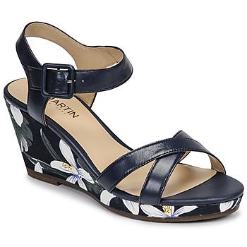 Cipők Női Szandálok / Saruk JB Martin QUERIDA E20 Tengerész