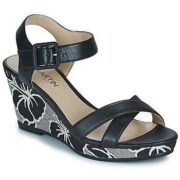 Cipők Női Szandálok / Saruk JB Martin QUERIDA Fekete
