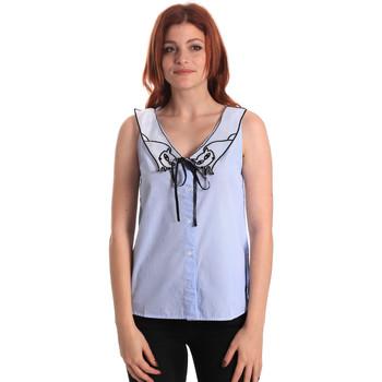 Ruhák Női Blúzok Fornarina SE174576CA1218 Kék