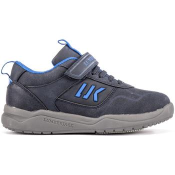 Cipők Gyerek Rövid szárú edzőcipők Lumberjack SB30105 005 N32 Kék