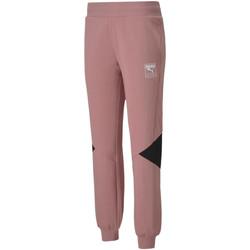 Ruhák Női Futónadrágok / Melegítők Puma 583565 Rózsaszín