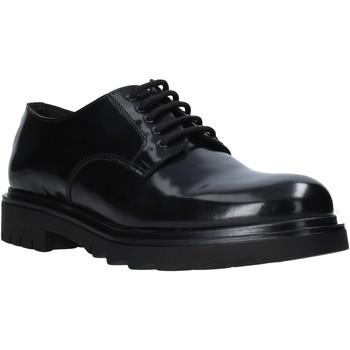 Cipők Férfi Oxford cipők Exton 608 Fekete