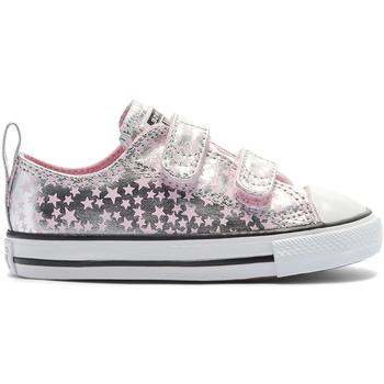 Cipők Gyerek Rövid szárú edzőcipők Converse 769706C Ezüst