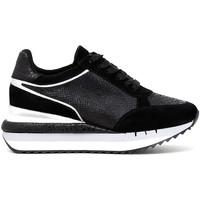 Cipők Női Rövid szárú edzőcipők Café Noir DN626 Fekete