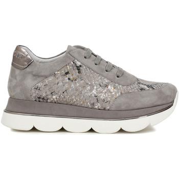 Cipők Női Rövid szárú edzőcipők Café Noir DB596 Szürke
