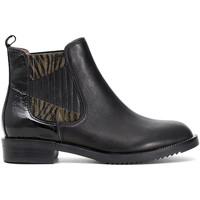 Cipők Női Csizmák Café Noir EB462 Fekete
