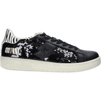 Cipők Női Rövid szárú edzőcipők Lotto 215168 Fekete