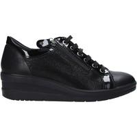 Cipők Női Rövid szárú edzőcipők Enval 6277800 Fekete