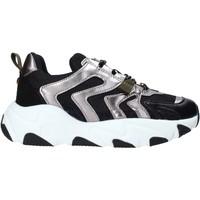 Cipők Női Rövid szárú edzőcipők Gold&gold B20 GS111 Fekete