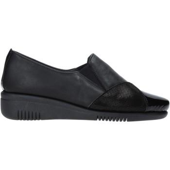 Cipők Női Mokkaszínek Grunland SC2987 Fekete