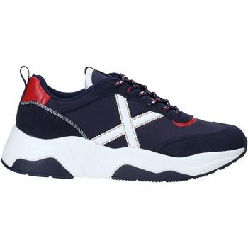 Cipők Férfi Rövid szárú edzőcipők Munich 8770033 Kék