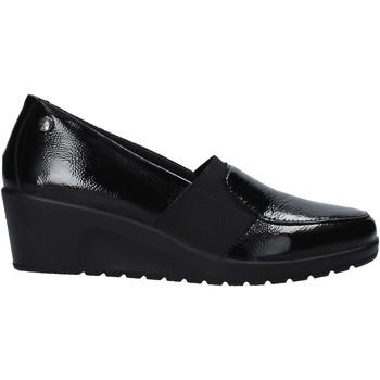 Cipők Női Mokkaszínek Enval 6273511 Fekete