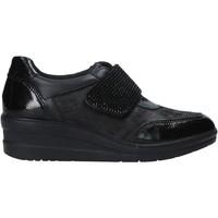 Cipők Női Belebújós cipők Enval 6278100 Fekete