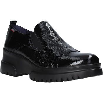 Cipők Női Mokkaszínek CallagHan 27206 Fekete