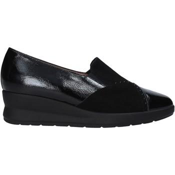 Cipők Női Mokkaszínek Soffice Sogno I20602 Fekete
