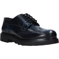 Cipők Férfi Oxford cipők Exton 606 Fekete