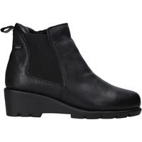 Cipők Női Csizmák Valleverde 36184 Fekete