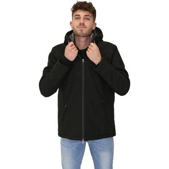 Ruhák Férfi Parka kabátok Invicta 4432410/U Fekete