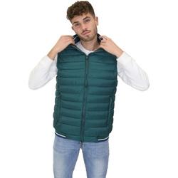 Ruhák Férfi Steppelt kabátok Navigare NV66017 Zöld