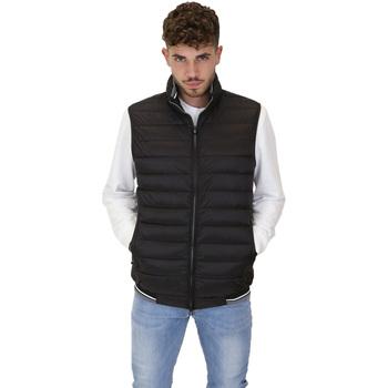 Ruhák Férfi Steppelt kabátok Navigare NV66017 Fekete