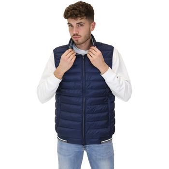Ruhák Férfi Steppelt kabátok Navigare NV66017 Kék